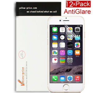 12X-Anti-fingerprint-Matte-Screen-Protector-Shield-Saver-Fr-Apple-iPhone-6S-Plus