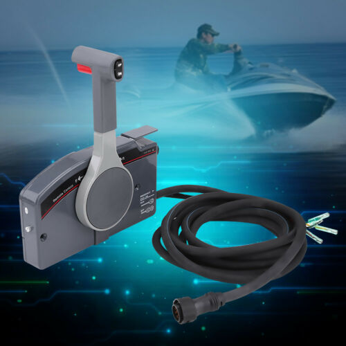 Boat Outboard Engine Side Mount Remote Control Box 10 Pin for Yamaha 703
