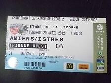 Entradas - 2011/12 Francia Campeonato Liga de fútbol 2-Amiens V dobló, 20 de abril