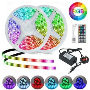 10M-RGB-5050-LED-Strip-Lights-With-IR-Remote-Back-Light-12V-USB-Colour-Changing