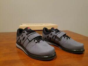 103fff8481f2d5 NEW Reebok Men s Lifter PR Cross-Trainer Shoe Ash Grey Black White ...
