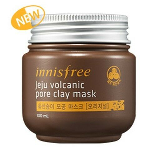 Innisfree - Original Jeju Volcanic Pore Clay Mask 100ml / Korean cosmetics