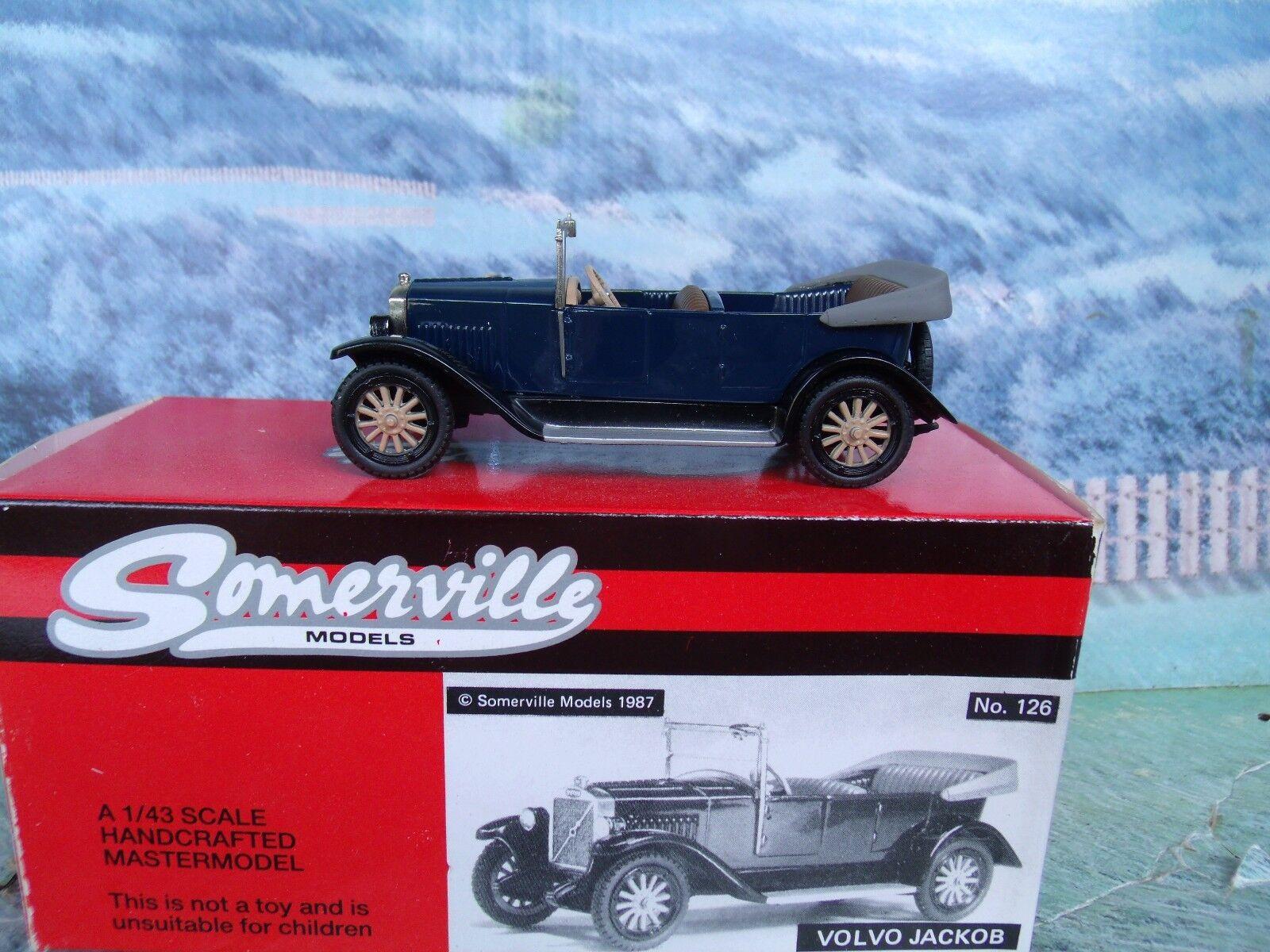 1   43 Somerville (Reino Unido) Volvo Jacob 1927 35coso 126 blanco Metal