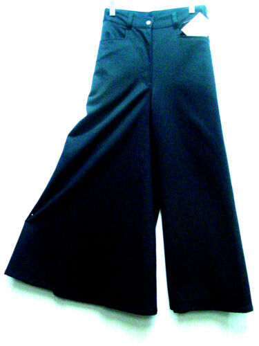 Ladies Riding Split Skirt by Frontier Classics Wild West World style Black