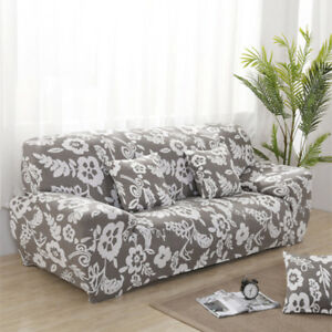 3 Seater Stretch Sette Sofa Cover Couch Slipcover L Shape