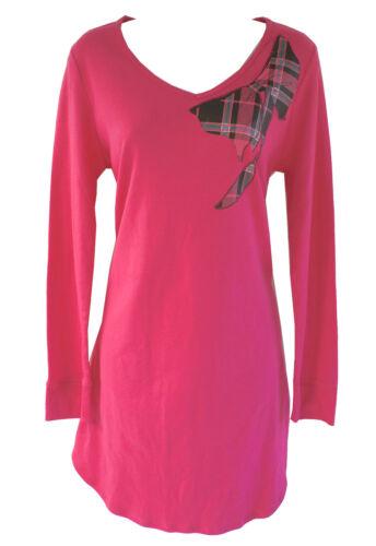 Soft Sensations Hot Pink  Sleepshirt Sleepwear Pajamas Women/'s S,L