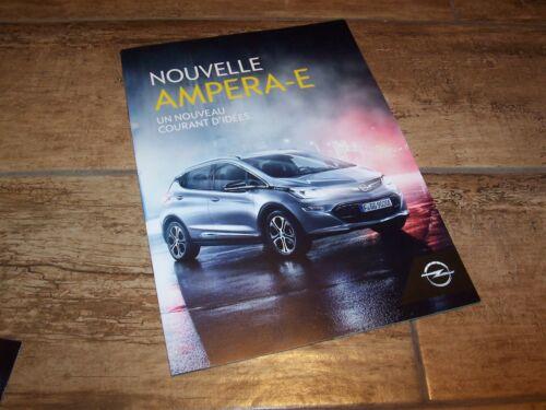 Brochure OPEL Ampera-E 2016 //// Catalogue