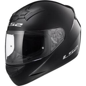 LS2-FF352-CASCO-MOTO-MOTO-Negro-Brillante-Pulido-Rookie