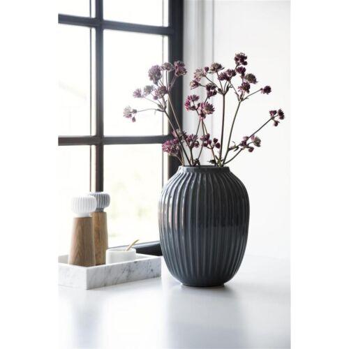 25cm Kähler Design Vase Hammershi Anthrazit