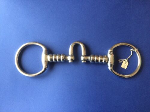 New Hanoverian Mouth Eggbutt Snaffle 5.75""