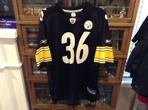 official photos 1ea54 8a193 Details about VTG 90's Jerome Bettis #36 Pittsburgh Steelers Reebok On  Field Jersey SZ XL