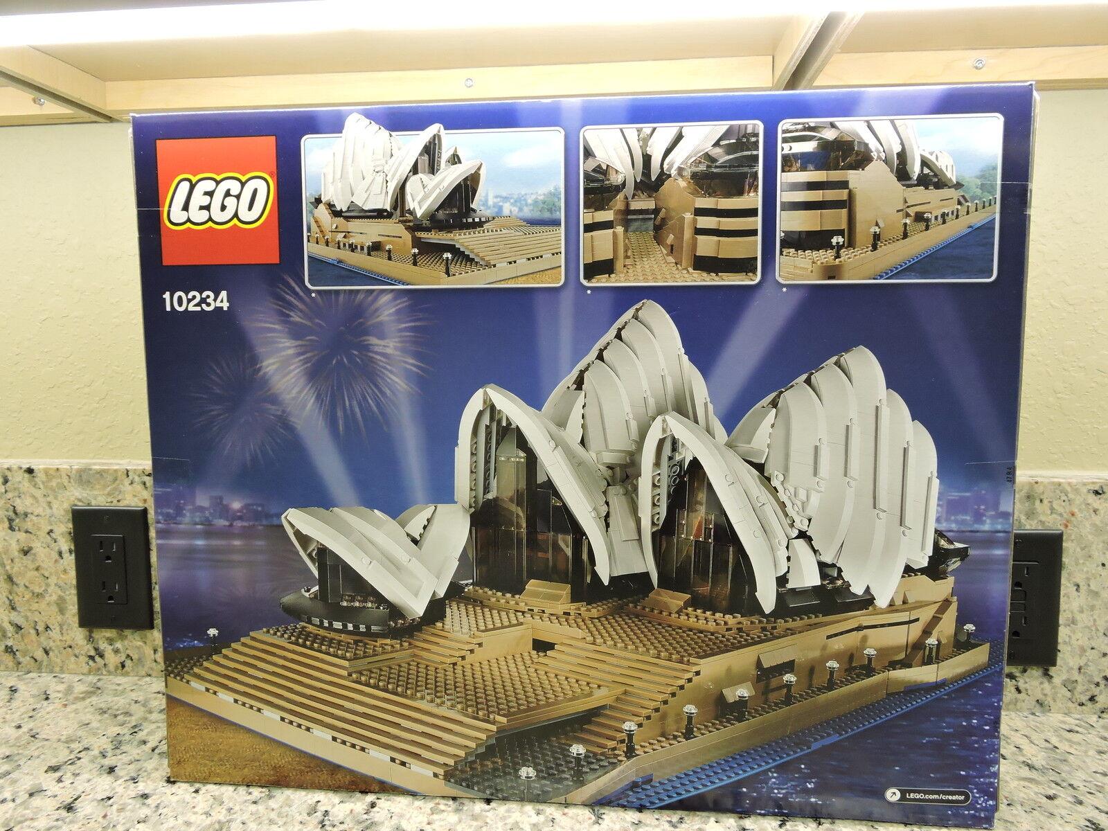 Lego Lego Lego Syndey Opera House (10234) MIB Retired d5508b