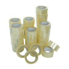 72 Rolls 2x110 Yards330 Ft Box Carton Sealing Packing Package Tape Clear