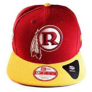 New Era NFL Washington Redskins Snapback Hat 9fifty Original Fit Cap ... d082e5d6506