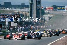 Spanish Grand Prix Start Jarama 1978 Photograph