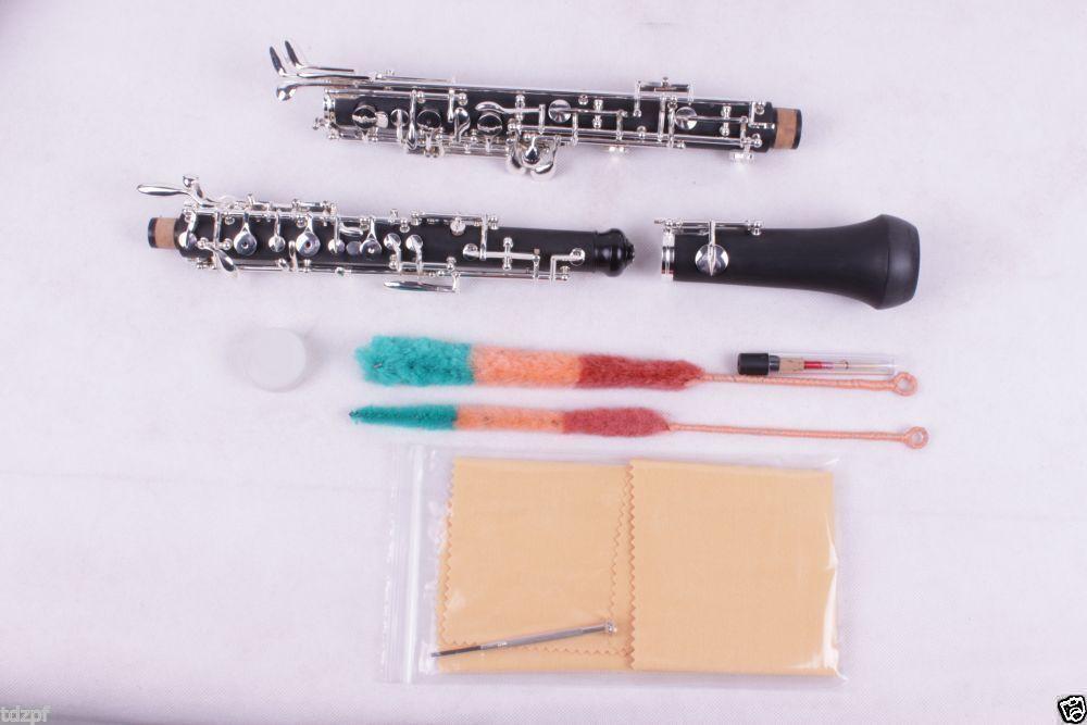 Oboe Buen Sonido C clave Ebonita cuerpo 3rd octava octava octava izquierda F F resonancia profesión  5  tiempo libre