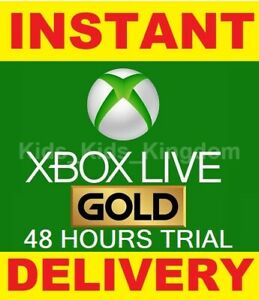 Xbox-Live-48-hours-Gold-Trial-Membership-Code-2-Days-Xbox-One-360-Instant