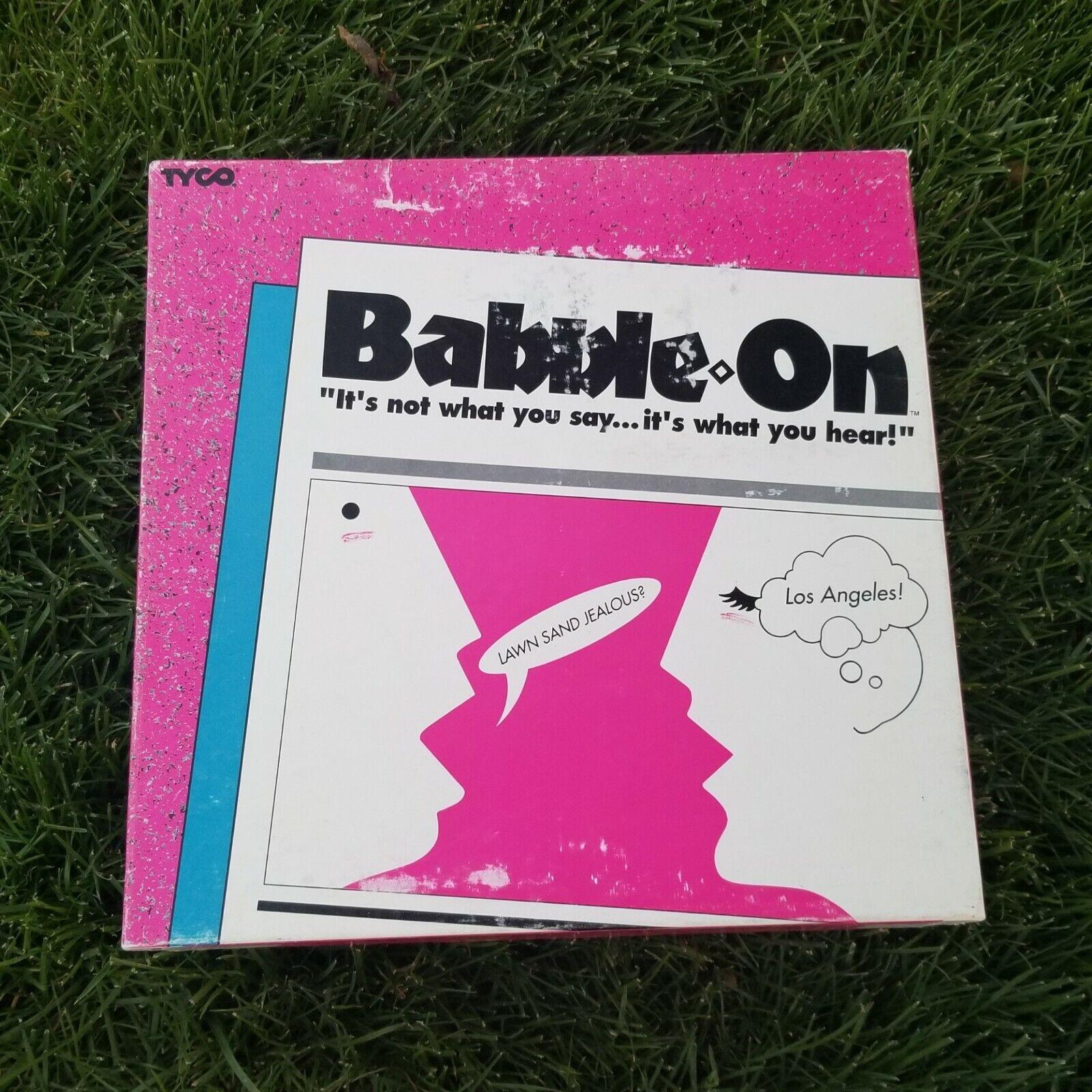 merce di alta qualità e servizio conveniente e onesto Vintage Babble On gioco from Tyco 1992 Very Very Very Good Condition completare gioco  costo effettivo