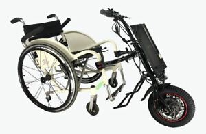 CNEBIKES-36V-350W-8-8ah-Attachable-Electric-Handcycle-Scooter-for-Wheelchair-NEW