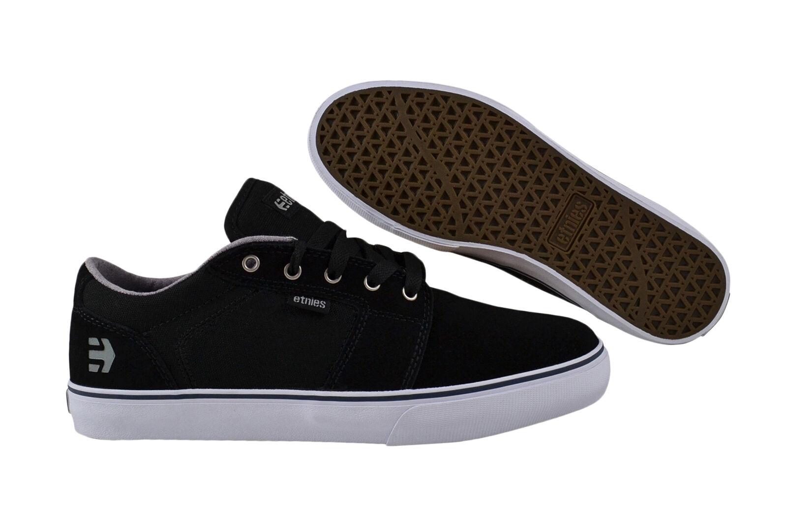 Etnies Barge ls Black/White Sneaker/zapatos negro