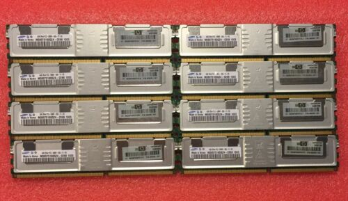 NEW 32GB 8@4GB MEMORY Dell Precision workstation 490 690 R5400 T5400  1 YEAR war