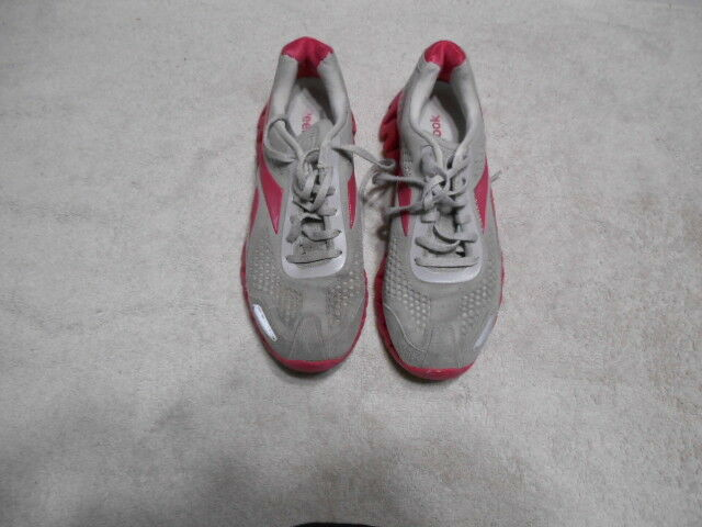 WOMENS REEBOK ZIGTECH RUNNING SHOES SZ 8 US  GYM WORK NURSE TRAINERS