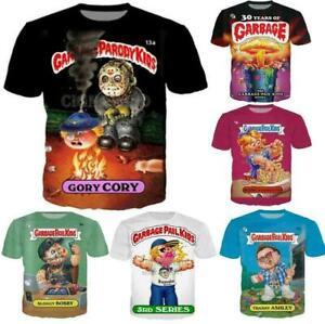 Fashion-Casual-T-Shirt-Garbage-Pail-Kids-3D-Print-Men-Women-Short-Sleeve-Tops
