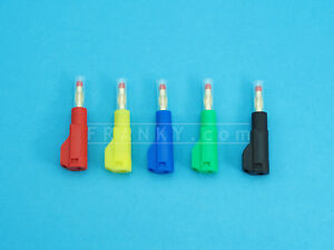 4mm Retractable Stackable Banana Plug (5 Colours)