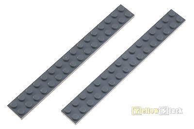2x Lego® 4282 2x16 Platte Neu-dunkelgrau Neu Dark Bluish Gray Spezieller Sommer Sale Baukästen & Konstruktion