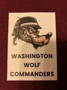 Washington Wolf Commanders ™ Shirt