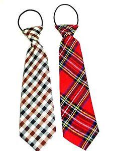 Black Stripe Pre-tied Elastic Necktie Kids Boys Fashion Accessory Fast Shipping