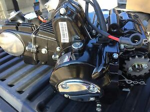 Details about 125cc Engine 3-speed reverse for 110cc Falcon Kazuma Taotao  125F Coolster 3125C