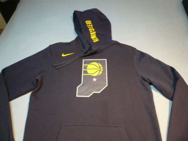a7a2fc7f5 Nike Indiana Pacers City Edition Club MEDIUM BRAND NEW NBA Hoodie