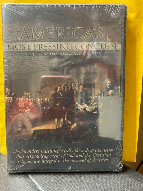 Americas Most Pressing Concern DVD New (sequel to Silencing  of God)  RARE