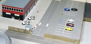 1:400 Model Airport Accessories Road Signage And Scenery Highway Signs And Barrs