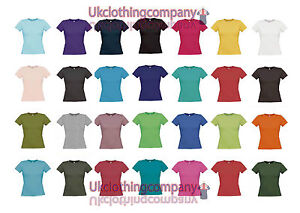 Gildan-Softstyle-Femme-T-shirt-femme-Tops-tailles-S-a-XXL-Manches-courtes