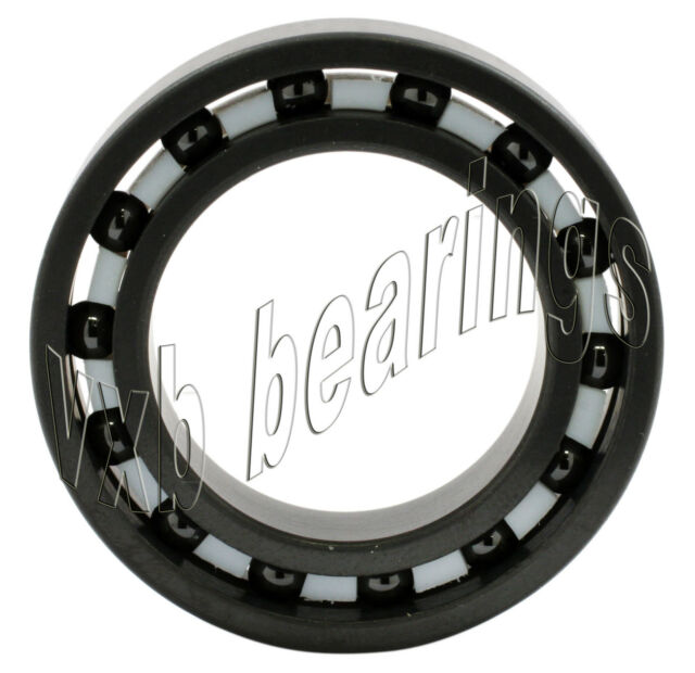 12x28x8 mm QTY 4 S6001-2RS Stainless HYBRID CERAMIC Ball Bearings BLK 6001RS