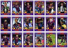 FC Barcelona European Champions League winners 2015 football trading cards