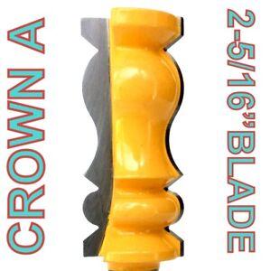 """1 PC 1/2"""" SH 2-5/16"""" Long Crown Molding A Router Bit S"""