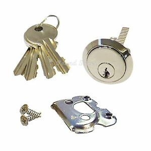 YALE Replacement Rim Cylinder 4 Keys Dimple Style Door Lock Nightlatch Latch NEW
