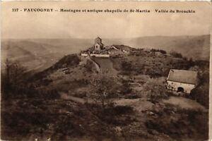CPA-Faucogney-et-la-Mer-Montagne-et-antique-chapelle-de-St-Martin-636679