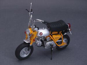 Complexé 1/10 Ebbro Honda Monkey Z50a 1970-jaune - 1/12 - 142040-afficher Le Titre D'origine Haute Qualité Et Bas Frais GéNéRaux