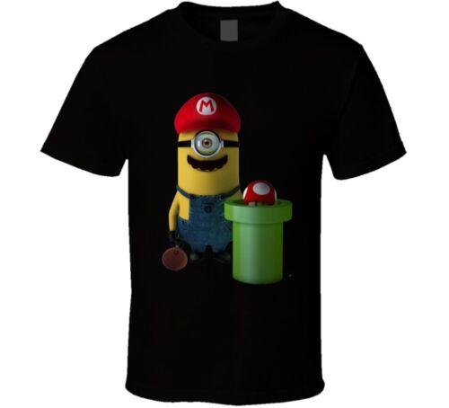 Mario Bros Minion Movie T Shirt *New*