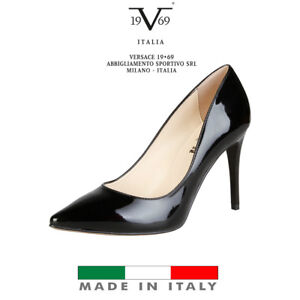 Nero Tacco Italia Design V1969 Décolleté xq8FzSWwg