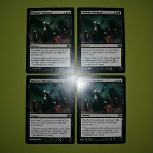 Minions-039-Murmurs-x4-Future-Sight-4x-Playset-Magic-the-Gathering-MTG