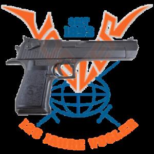 Pistole-Desert-Eagle-schwarz-USA-Israel-1980-Originalgetreues-Modell