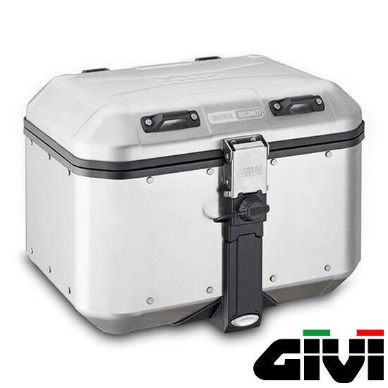 Top-Case Givi Dolomiti Aluminum Pressed 46L Motorbike Travel Trekking New