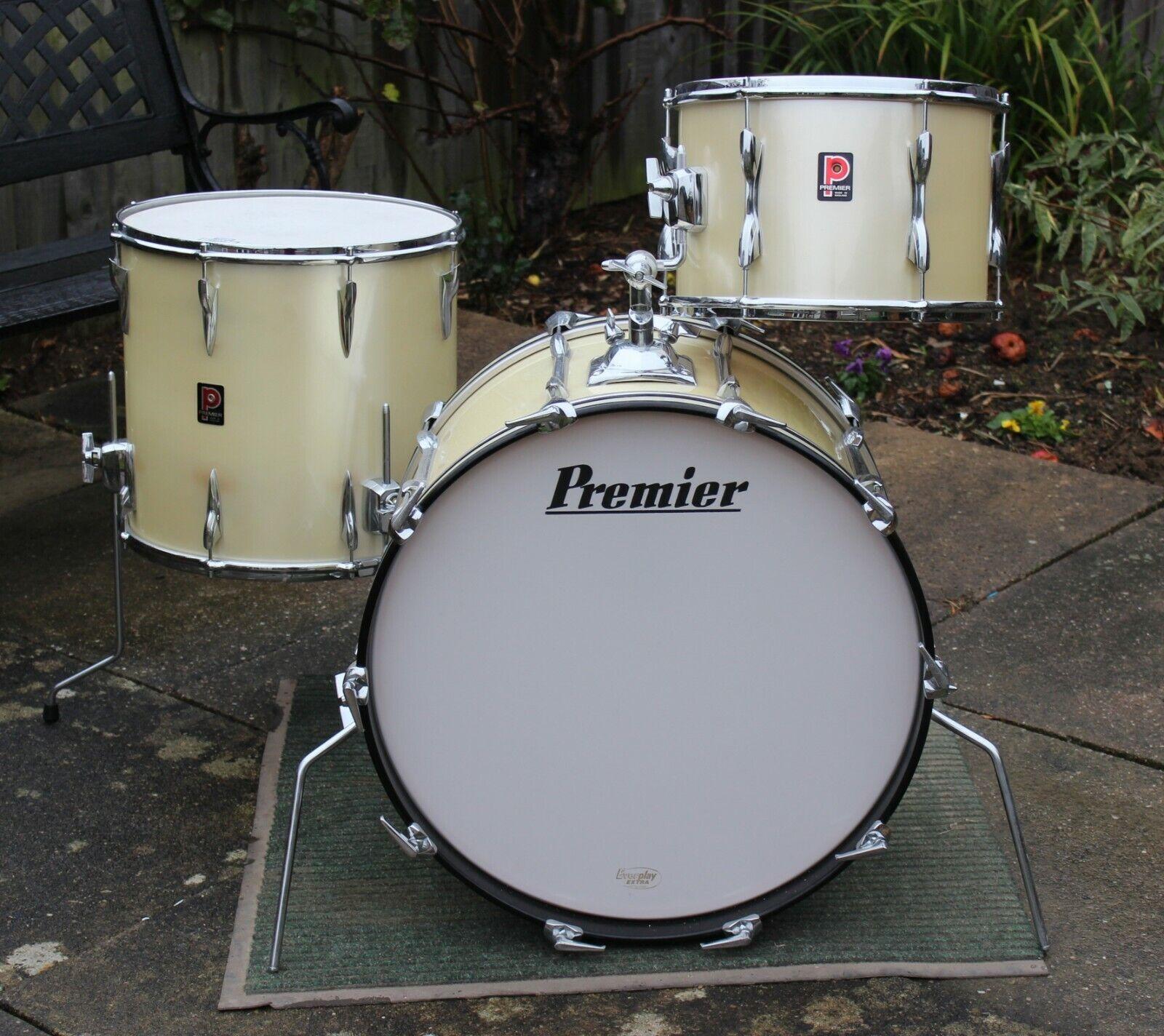 Vintage Premier Elite drum kit