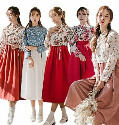 Korean Modernized Traditional Costume Modern Hanbok Chima Jeogoli Set Pack