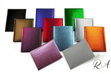 4x8 Matte Metallic Poly Bubble Mailers Mailing Padded Envelopes